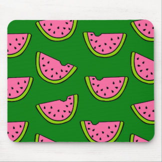 Pink Watermelons Mouse Pad