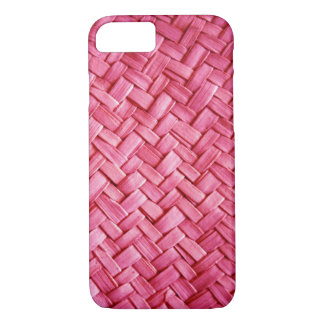 Pink Weave iPhone 7 Case