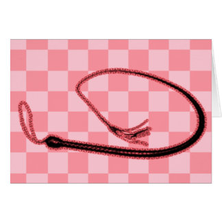 PINK WHIP CARD