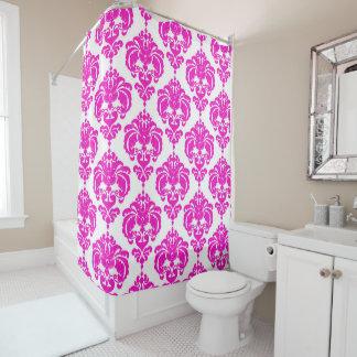 Pink & White Damask Chic Modern Elegant Pattern