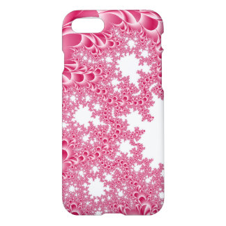 Pink White Fractal iPhone 7 Case