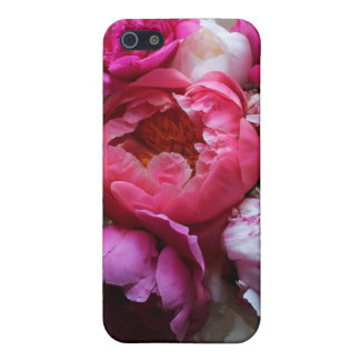 Pink & White Peonies in Bloom - iPhone 5 Cover