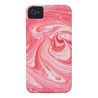 Pink & White Swirl Blackberry Case iPhone 4 Covers