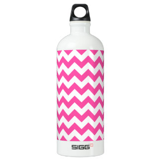 Pink White Zigzag Chevron Pattern Girly