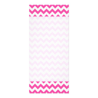 pink white zigzag chevron pattern girly full colour rack card - Girly Pictures To Colour In