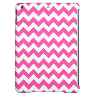 Pink White Zigzag Chevron Pattern Girly iPad Air Case