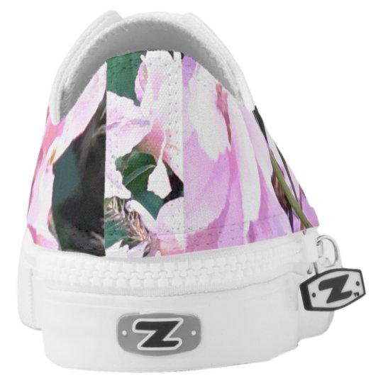 Pink Wildflowers sneakers
