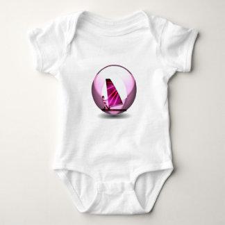 Pink Windsurf Designs Baby T-Shirt