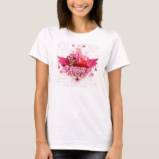 Pink Wings - Faith.Hope.Love T-Shirt