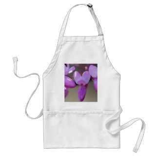 pink wisteria in the garden standard apron