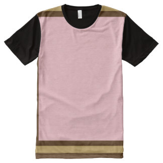 Pink with Brown and Mode Trim