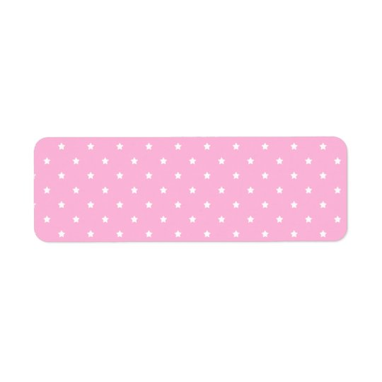 Pink with little white stars. Custom