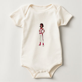pink wonder mom baby bodysuit