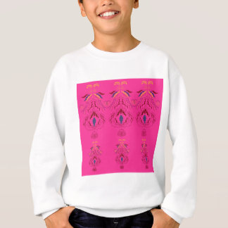 Pink wonderful Ornaments Folk design Sweatshirt