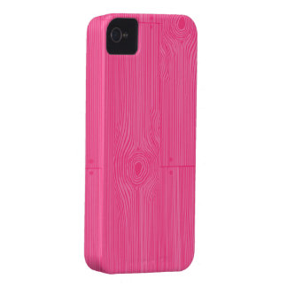 pink woodgrain iPhone 4 cover