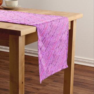 Pink Xmas Short Table Runner
