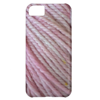 Pink Yarn iPhone 5C Cases