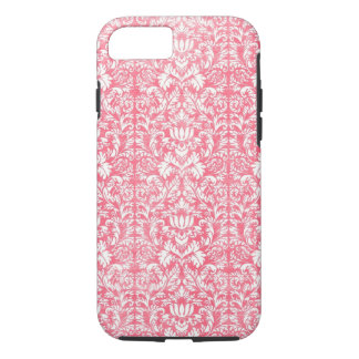 Pink Yarrow Floral Damask iPhone 7 Case