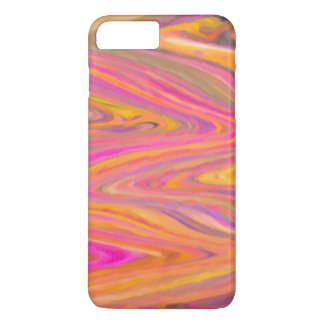 Pink, Yellow and Violet Zigzag Stripe Abstract Case-Mate iPhone Case