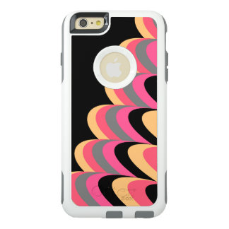 Pink Yellow Black Stylish Pattern OtterBox iPhone 6/6s Plus Case