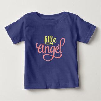 Pink Yellow Little Angel Baby Jersey TShirt design