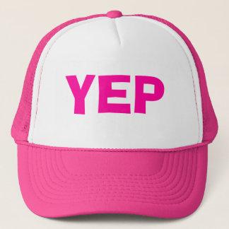 Pink Yep Hat