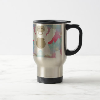 pink yeti travel mug