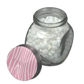 Pink Zebra Baby Shower Candy and Mints