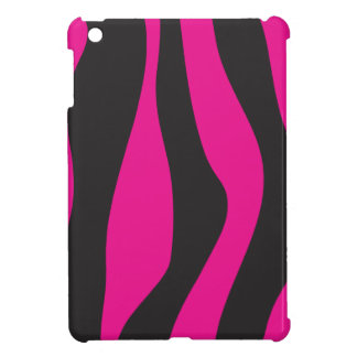 Pink zebra cover for the iPad mini