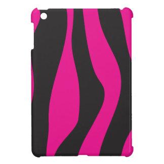Pink zebra iPad mini cover