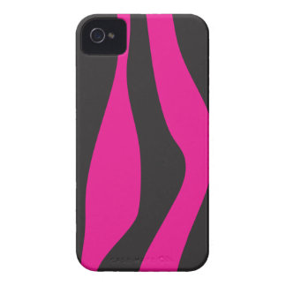 Pink zebra iPhone 4 covers