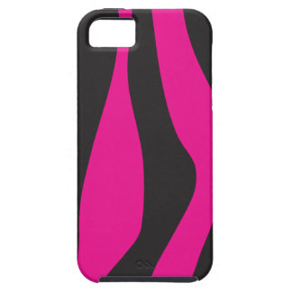Pink zebra iPhone 5 cover
