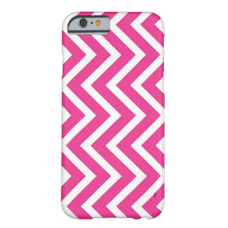 Pink zigzag barely there iPhone 6 case