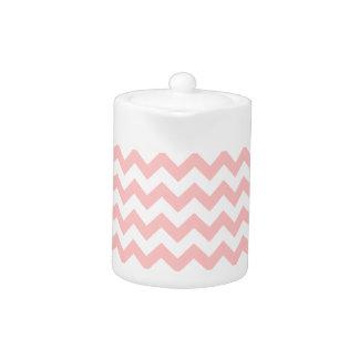 Pink Zigzag Stripes Chevron Pattern Girly