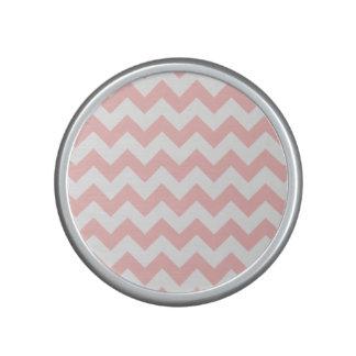 Pink Zigzag Stripes Chevron Pattern Girly Bluetooth Speaker