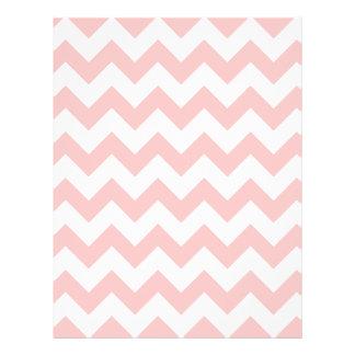 Pink Zigzag Stripes Chevron Pattern Girly Flyer