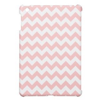 Pink Zigzag Stripes Chevron Pattern Girly iPad Mini Cover