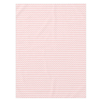 Pink Zigzag Stripes Chevron Pattern Girly Tablecloth