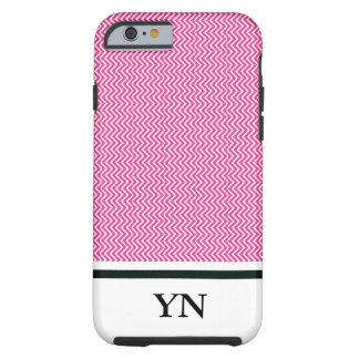 Pink zigzag tough iPhone 6 case