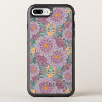 Pink Zinnia Mandala Pattern OtterBox Symmetry iPhone 8 Plus/7 Plus Case