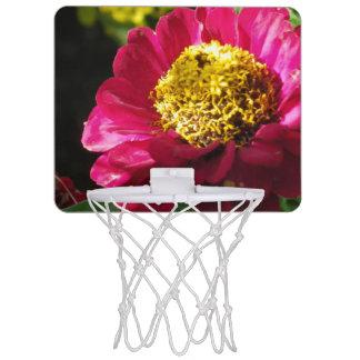 Pink Zinnia Mini Basketball Hoop