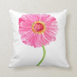 Pink Zinnia pillow