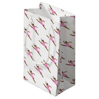 pinkballetyanna1 small gift bag