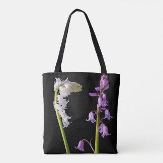 Pinkbells Whitebells Tote Bag