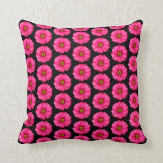 Pinked Flower Throw Pillow