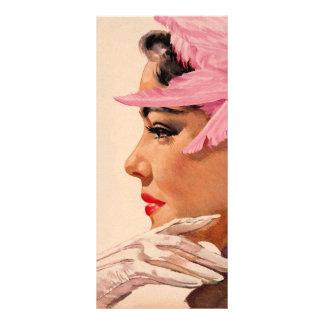 pinkfeathers rack card