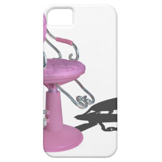 PinkHairDresserChair070315.png iPhone 5 Case