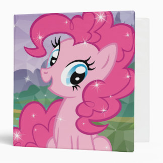 Pinkie Pie 3 Ring Binder