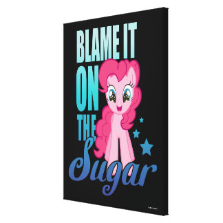 Pinkie Pie | Blame It One The Sugar Canvas Print