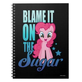 Pinkie Pie   Blame It One The Sugar Spiral Notebook